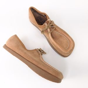 Anne Kalso Earth Shoe Womans Vtg Leather Moccasins